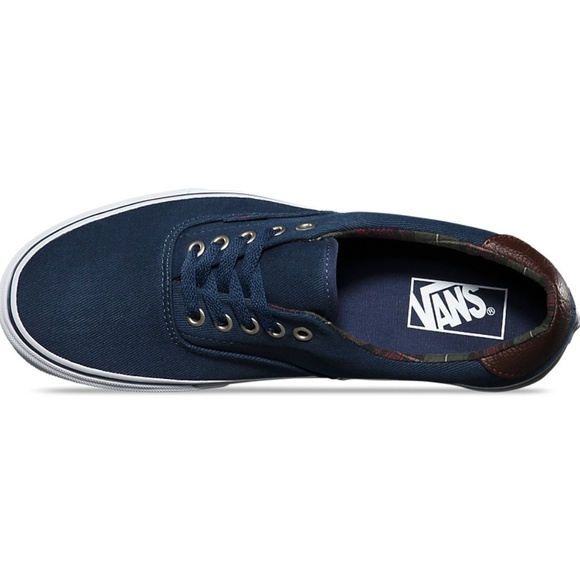 c918036da0 Vans Era 59 Plaid Dress Blues Men s Low Shoes 10.5